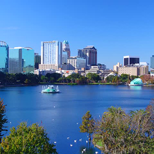 Downtown Orlando, Florida